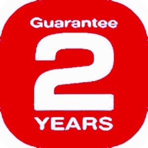 2 year warranty 130 x 130